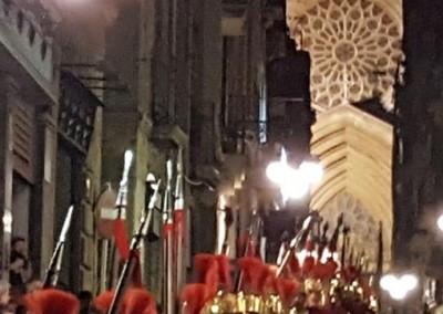 Els soldats a la catedral